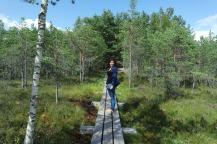 nice walk through the national park