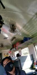 Inside the train - 3rd class