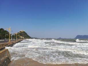 Extrem high tide